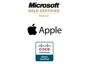 microsoft apple cisco certified partner